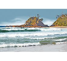 The Pass Byron Bay Photographic Print