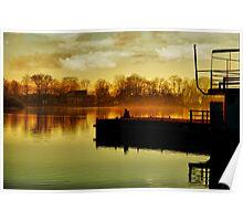 Dock Sitting Poster
