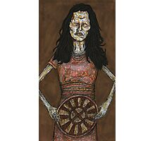 Inca Mummy Girl - Ampata - BtVS Photographic Print