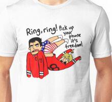 Patrick Kane's Freedom Phone Unisex T-Shirt
