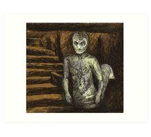 Reptile Boy - Demon - BtVS Art Print