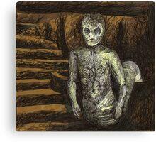 Reptile Boy - Demon - BtVS Canvas Print