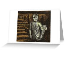 Reptile Boy - Demon - BtVS Greeting Card