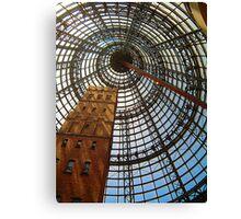Progress Saves History - Melbourne Central, Melbourne Australia Canvas Print