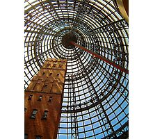 Progress Saves History - Melbourne Central, Melbourne Australia Photographic Print