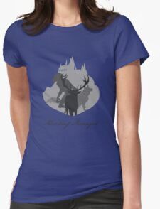 The Marauders Grayscale Womens Fitted T-Shirt