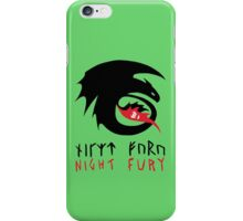 NIGHT FURY - Strike Class Symbol iPhone Case/Skin