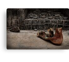 Boot Canvas Print