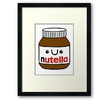 Nutella monster Framed Print
