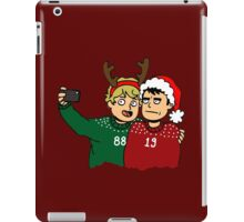 A Very Selfie Christmas iPad Case/Skin