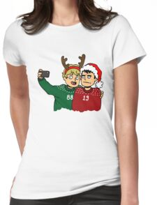 A Very Selfie Christmas Womens Fitted T-Shirt