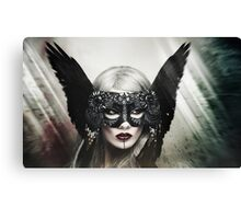 Zoe Harlotta - Queen of Birds 1 Canvas Print