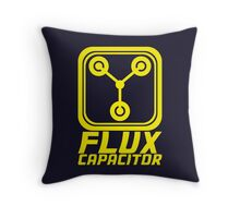 Flux Capacitor - Back to the Future Throw Pillow