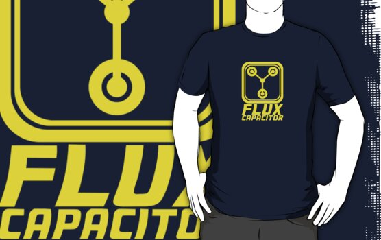 Flux Capacitor - Back to the Future by TeesBox