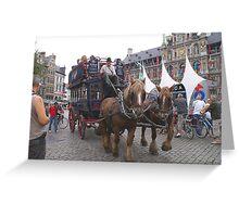 Antwerp - Sightseeing Greeting Card