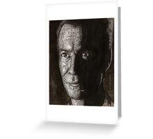 Halloween - Ethan Rayne - BtVS Greeting Card