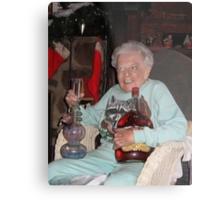 Stoner Grandma Metal Print