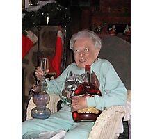 Stoner Grandma Photographic Print