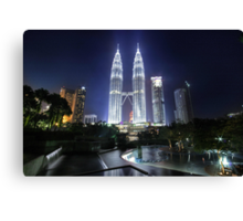 The Petronas Towers Canvas Print