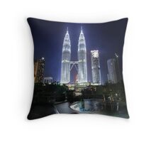 The Petronas Towers Throw Pillow