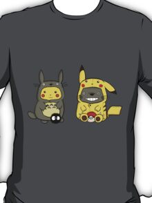 Totoro and Pikachu Onesies T-Shirt