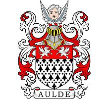 Aulde Coat of Arms Photographic Print