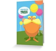 Lorax Greeting Card