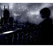 snow scene (the longing) Photographic Print