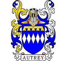 Autrey Coat of Arms Photographic Print