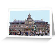 Antwerp - Townhall Greeting Card