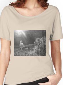 Walk Proud like a Lama  Women's Relaxed Fit T-Shirt