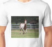 Running horse. Unisex T-Shirt