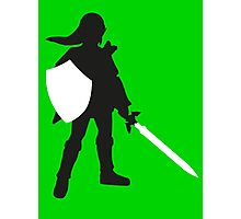 Legend of Zelda - Link  Photographic Print