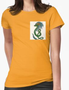Quetzalcoatl Womens Fitted T-Shirt