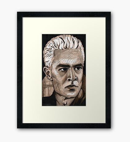 What's My Line, Part Two - Spike - BtVS Framed Print