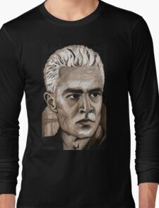 What's My Line, Part Two - Spike - BtVS Long Sleeve T-Shirt