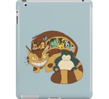 Poke' School Bus iPad Case/Skin