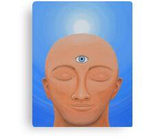 Spiritual Vision - Third Eye Open Canvas Print