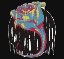 Psychedelic Rose by Cubaser