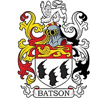 Batson Coat of Arms Photographic Print