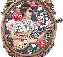Ezra Koenig of Vampire Weekend by Jesse Knight