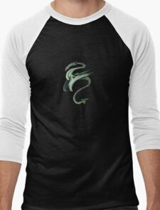 Chinese Dragon (color) Men's Baseball ¾ T-Shirt