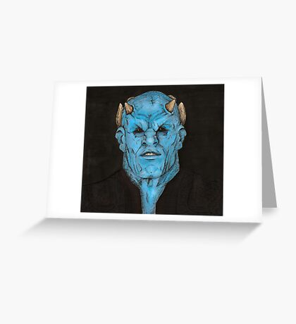 Surprise - The Judge - BtVS Greeting Card