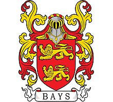 Bays Coat of Arms Photographic Print