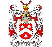 Beadle Coat of Arms Photographic Print