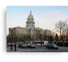 Denver, Colorado State Capital Canvas Print