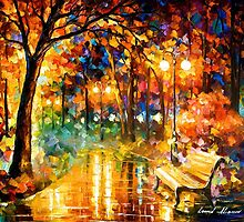 Necessity Of Passion — Buy Now Link - www.etsy.com/listing/213632617 by Leonid  Afremov