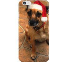 Christmas dog iPhone Case/Skin
