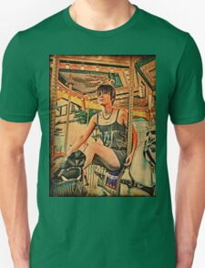 Lady on Carousel T-Shirt