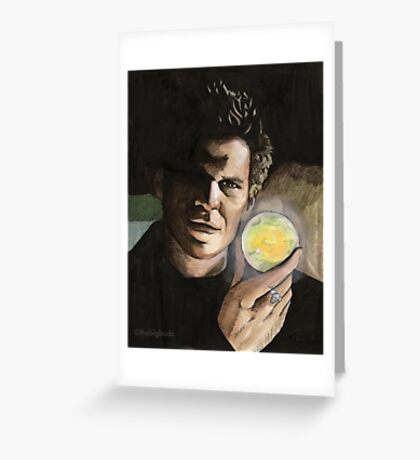 Passion - Angelus - BtVS Greeting Card